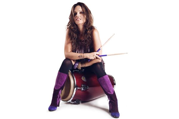 Percussionist Emilie